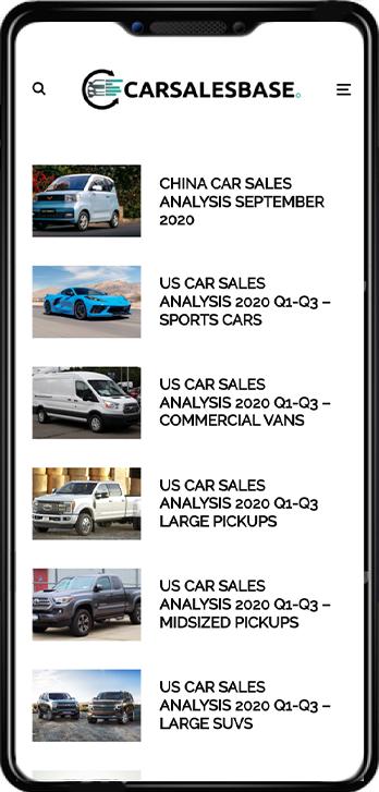 car sales base