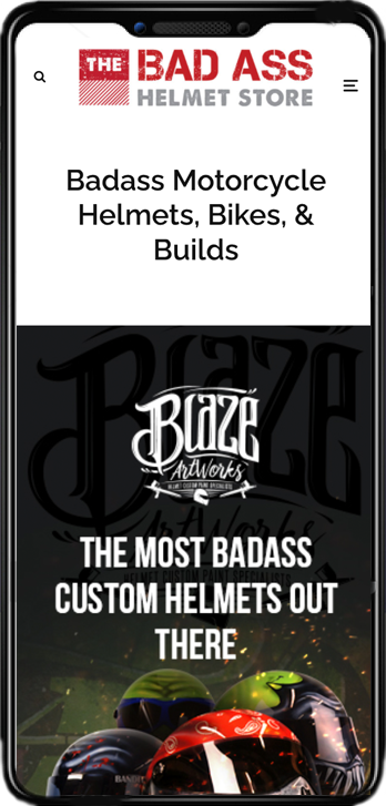 badass helmet store