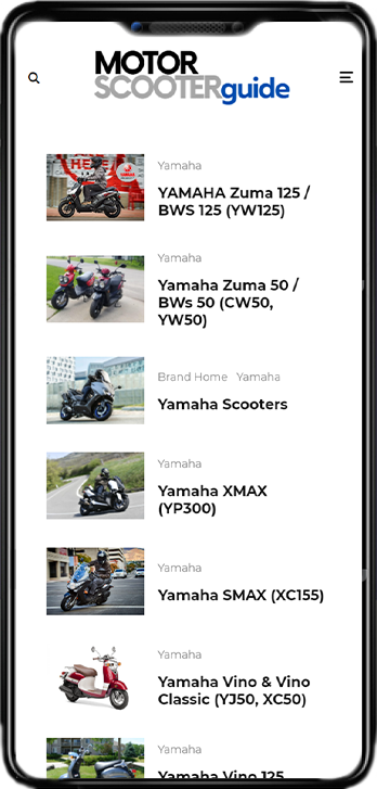 Motor Scooter Guide on Mobile