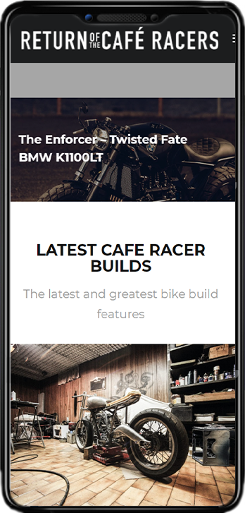 ROCR website on mobile