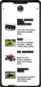 atv style mobile preview 2021